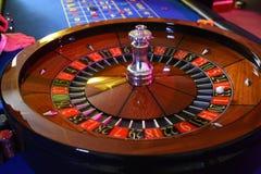 Roulettewiel het gokken stock foto