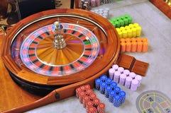 Rouletthjul royaltyfri fotografi