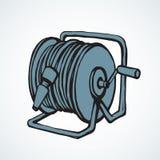 Roulez le tuyau Retrait de vecteur illustration stock