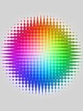 Roulis colorés Image libre de droits
