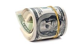 Roulis d'argent Photo stock