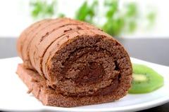 Roulis de chocolat Image libre de droits