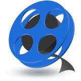 Roulis de film Images libres de droits