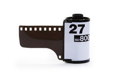 Roulis de film Photographie stock