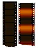 Roulis de film de cinéma Images stock