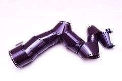 roulis de film de 35mm Photographie stock libre de droits