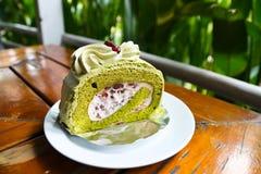 Roulis de gâteau Photographie stock