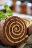 Roulis de gâteau mousseline Photographie stock libre de droits