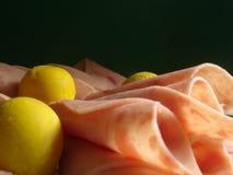 Roulis de jambon Images stock