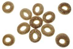 Roulis de pain en forme d'anneau Images libres de droits