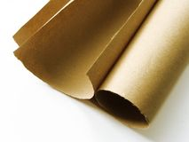 Roulis de papier Photo libre de droits