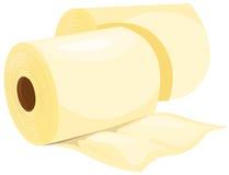Roulis de papier de tissu Photo libre de droits