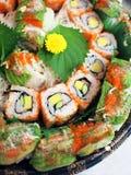 Roulis de sushi Photo stock