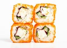 Roulis de sushi image libre de droits