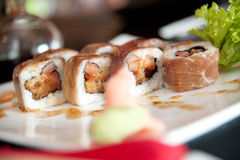 Roulis de sushi   images libres de droits