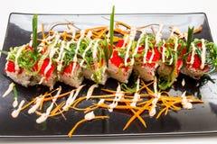 Roulis de sushi Photos stock