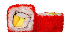 Roulis de sushi frais Photos libres de droits