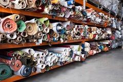 Roulis de tissu. Photos stock