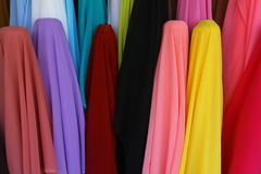 Roulis de tissu Images stock