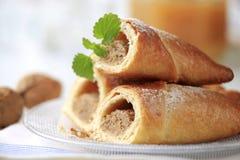 Roulis doux de noix Photo stock