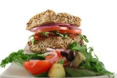 Roulis entier 7 de salade Images libres de droits