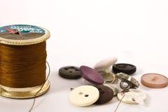 Roulis et boutons d'amorçage Images stock