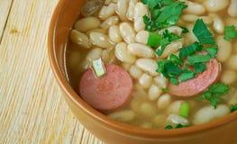 Roumain Bean Soup photographie stock