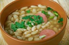 Roumain Bean Soup image stock