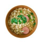 Roumain Bean Soup image libre de droits