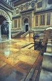 Roumain orthodoxe de monastère d'église image stock