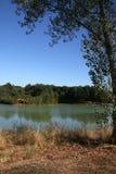 Roumazieres Loubert, Lake and Woodland Royalty Free Stock Photo