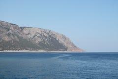 Roumeli de Agia, extremo de la garganta del samaria Imagenes de archivo