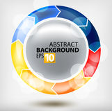 Round abstraction Royalty Free Stock Photography