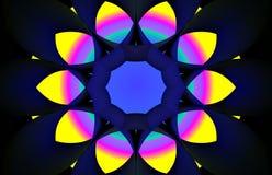 Round abstrakt Zdjęcie Stock