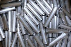 Round aluminum tube Stock Images