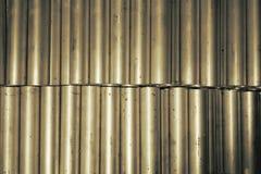 Round aluminum tube Stock Photo