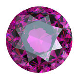 Round amethyst Stock Images