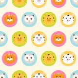 Round animals. Royalty Free Stock Image