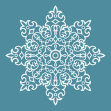 Round Arabesque Pattern Royalty Free Stock Images