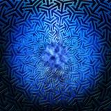 Round arabic SF pattern Stock Photos