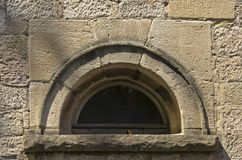 Round Arched Window Royalty Free Stock Image