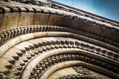 Round architecture element Royalty Free Stock Photography