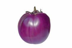 Round aubergine Royalty Free Stock Image