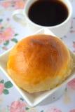 Round babeczka chleb obrazy stock