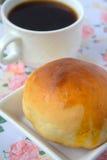 Round babeczka chleb Fotografia Stock