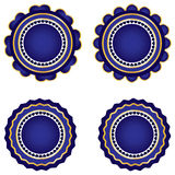 Round Badge Stock Images
