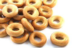 Round bagel Royalty Free Stock Images
