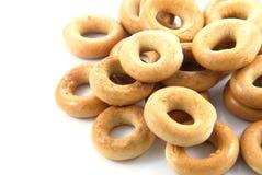 Round bagel Stock Image
