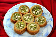 Round Baklava-4 Royalty Free Stock Images