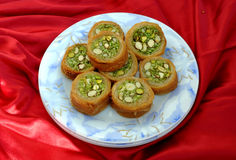 Round Baklava-6 Royalty Free Stock Photos